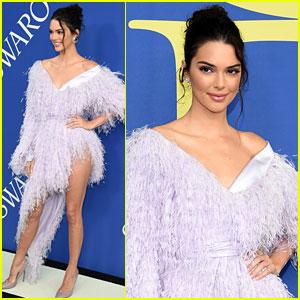 Kendall Jenner Wears Leg-Baring Dress at CFDA Fashion Awards 2018!