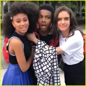 Daniella Perkins & Lilimar Are Jokingly Holding Amarr Wooten Hostage Unless You Watch 'Knight Squad'