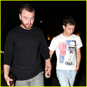 Sam Smith Holds Hands with Brandon Flynn on Their Date Night!
