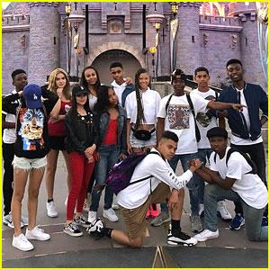 Storm Reid Celebrates Birthday Early at Disneyland With Friends