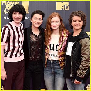 'Stranger Things' Kids Attend MTV Awards Sans Millie Bobby Brown