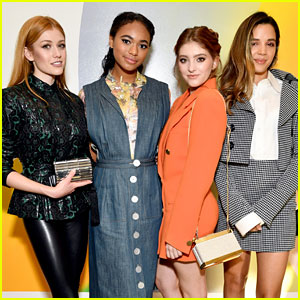 Katherine McNamara, Chandler Kinney, & More Step Out in Style for Wolk Morais Show