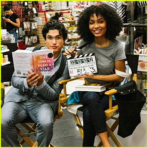 Yara Shahidi & Charles Melton Start Filming 'The Sun Is Also a Star' - First Pic!