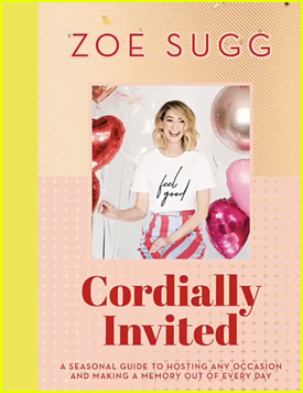 Zoella Reveals Cover of New Book 'Cordially Invited'