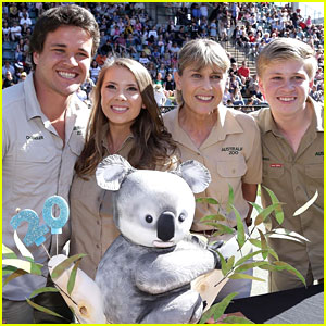 Bindi Irwin Celebrates 20th Birthday With Koala Cake