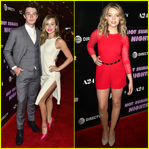 Brec Bassinger & Dylan Summerall Couple Up For 'Hot Summer Nights' Screening