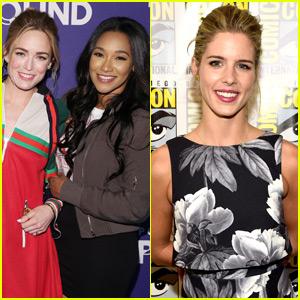 Candice Patton, Caity Lotz, Emily Bett Rickards Reveal How 'Shethority' Was Born