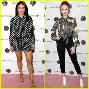 Camila Mendes & Madelaine Petsch Stun at Beautycon Festival 2018!