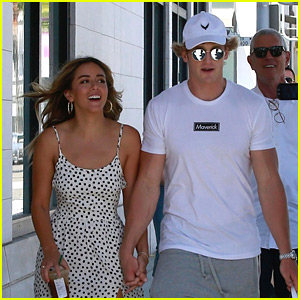 Logan Paul Shops with Girlfriend Chloe Bennet After She Defends Relationship