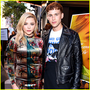 Tommy Dorfman Supports Chloe Moretz at Outfest Premiere!