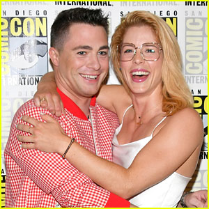 Colton Haynes Shares Fun Fact About BFF Emily Bett Rickards' Birthday