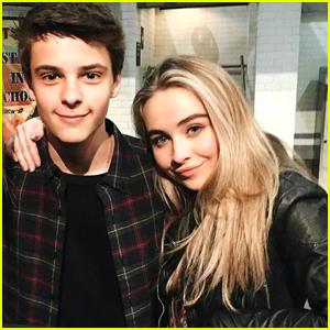 Sabrina Carpenter Dishes On Her Relationship With Corey Fogelmanis: 'We're Really Just Friends'