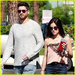 Lucy Hale Holds Hands with New Beau Ryan Rottman!