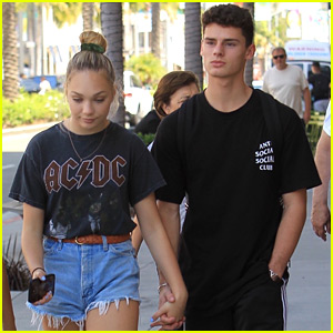Maddie Ziegler & Jack Kelly Hold Hands While Shopping in LA