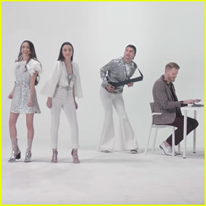 Merrell Twins & Superfruit Recreate Abba's 'Mamma Mia' Music Video - Watch Now!