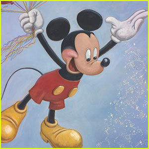 Mickey Mouse Gets a 90th Birthday Portrait!