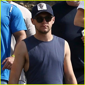 Niall Horan Enjoys a Day Off From His Flicker World Tour in Brazil