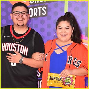 Rico & Raini Rodriguez Are Competing On 'Double Dare' Tonight!
