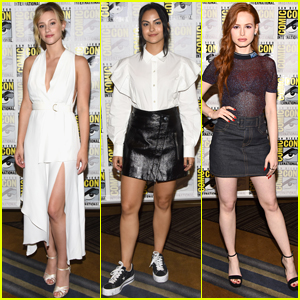 The 'Riverdale' Ladies Look So Pretty at Comic-Con!