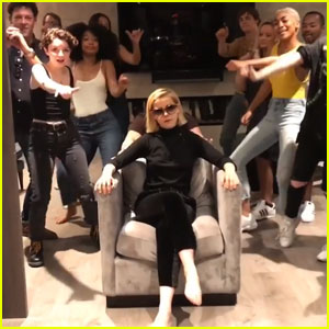 Kiernan Shipka, Ross Lynch & 'Sabrina' Cast Do 'In My Feelings' Challenge - Watch!