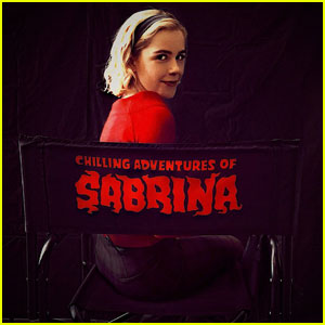 Kiernan Shipka Shares First 'Chilling Adventures of Sabrina' Poster!