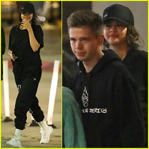 Selena Gomez Keeps It Casual During Dinner & A Movie With Pals