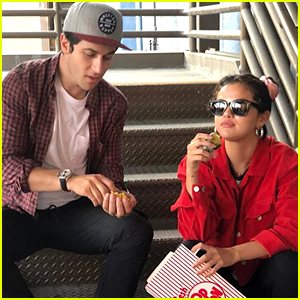 Selena Gomez & David Henrie Have a 4th of July 'Wizards of Waverly Place' Reunion at Disneyland!