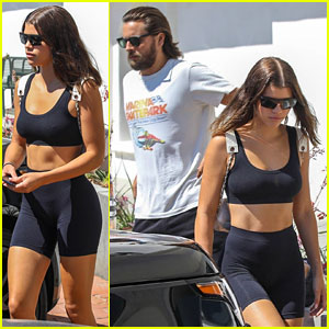 Sofia Richie Steps Out For Lunch Date with Scott Disick