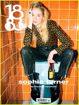 Brooklyn Beckham Photographs Sophie Turner for '1883 Magazine'!