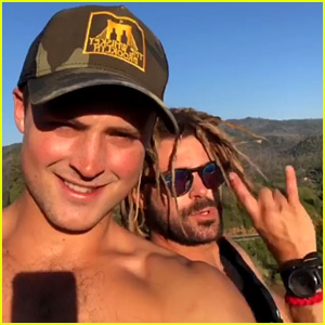 Zac Efron & Brother Dylan Are 'At It Again,' Head Out on a Road Trip!