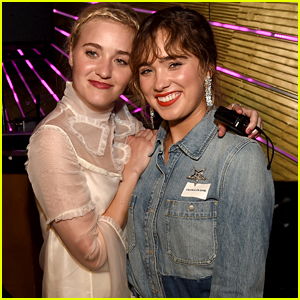 AJ Michalka & Haley Lu Richardson Step Out For 'Support the Girls' Premiere
