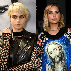 Cara Delevingne & Ashley Benson Share a Kiss in Heathrow Airport!