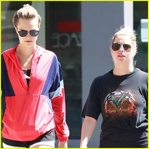 Ashley Benson Hangs Out with Cara Delevingne in WeHo!