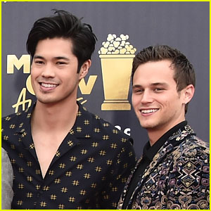 Brandon Flynn Feels 'Small' Next To Ross Butler In Shirtless Gym Pic