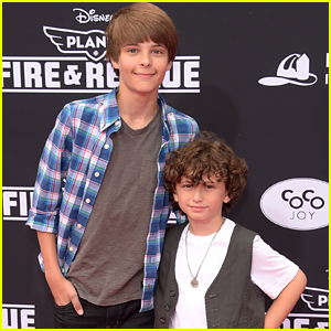 Corey Fogelmanis & August Maturo's 'Girl Meets World' Mini Reunion Will Give You All The Feels