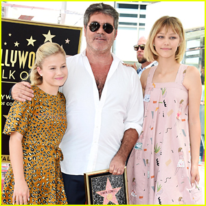 Darci Lynne Farmer Hangs With Grace VanderWaal at Simon Cowell's Walk of Fame Party