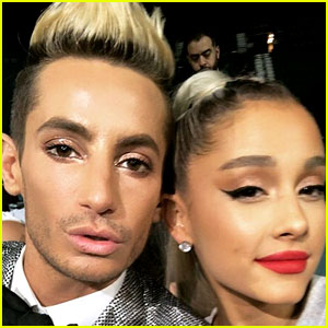 Frankie Grande Gushes About Sister Ariana in Front of 'Sweetener' Billboard: 'I Love You the Most!'