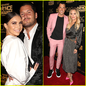 Jenna Johnson & Val Chmerkovskiy Have Cute Date Night Out at Industry Dance Awards 2018