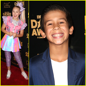 DWTS Juniors Pro JT Church Hits Industry Dance Awards with JoJo Siwa