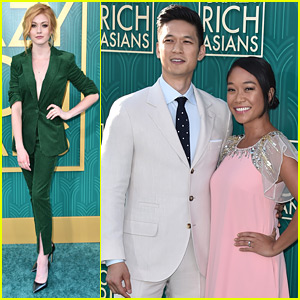 Katherine McNamara Supports Harry Shum, Jr. at 'Crazy Rich Asians' Premiere in LA