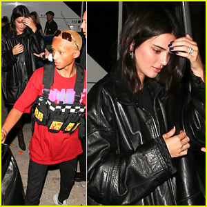 Kendall Jenner Celebrates Justine Skye's Birthday with Jaden Smith!