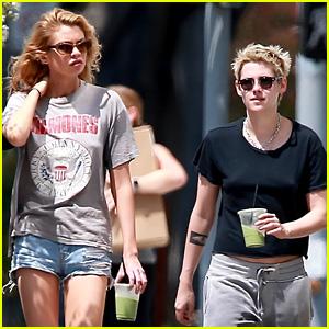Kristen Stewart Gets Pampered with Girlfriend Stella Maxwell