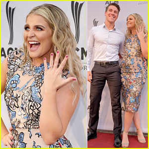 Lauren Alaina Couldn't Stop Flashing Her Engagement Ring at ACM Honors 2018
