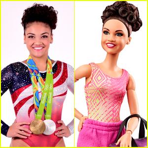 Laurie Hernandez's New Shero Barbie 100% Looks Like Her!