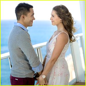 Alexa & Carlos PenaVega Reveal That The Kissing Scene in New Hallmark Movie Was Hardest For Them To Film