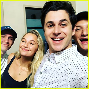 David Henrie Shares First 'This Is The Year' Cast Pic