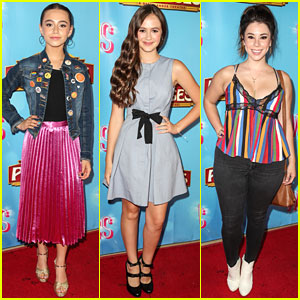 Sky Katz, Olivia Sanabia & Jillian Rose Reed Attend 'Waitress' Opening Night In LA