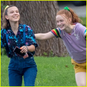 Millie Bobby Brown & Sadie Sink Have Fun During 'Stranger Things' Break