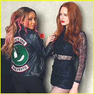Vanessa Morgan & Madelaine Petsch Give Fans First Look at Choni in 'Riverdale' Season 3