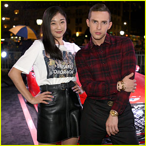 Adam Rippon & Mirai Nagasu Keep It Fierce at Harper's Bazaar Icons Event